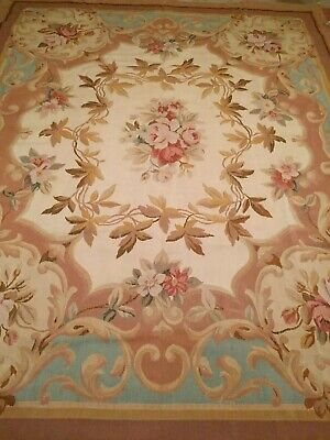 Aubusson Weave Rug (Area Rug Fine Aubusson_Weave Flat Pile Hand Woven 8.0 x 10.0 Excellent Price .)