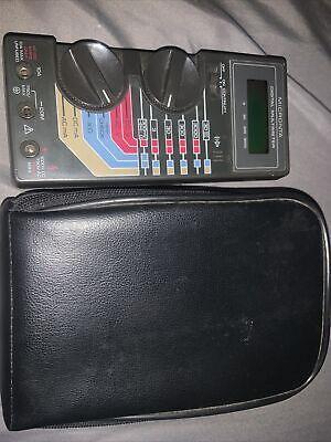 Radio Shack Micronta 22-185a Multimeter