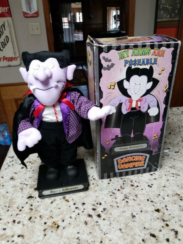 TL Toys, Halloween, Singing And Dancing Vampire Tested Working with Original Box