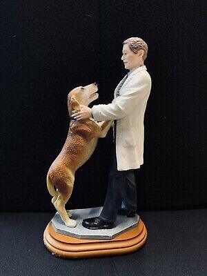 VAN-MARK~Vet Care~Happy You're Home! Vet & Dog 81811 Collectible Figurine Gift
