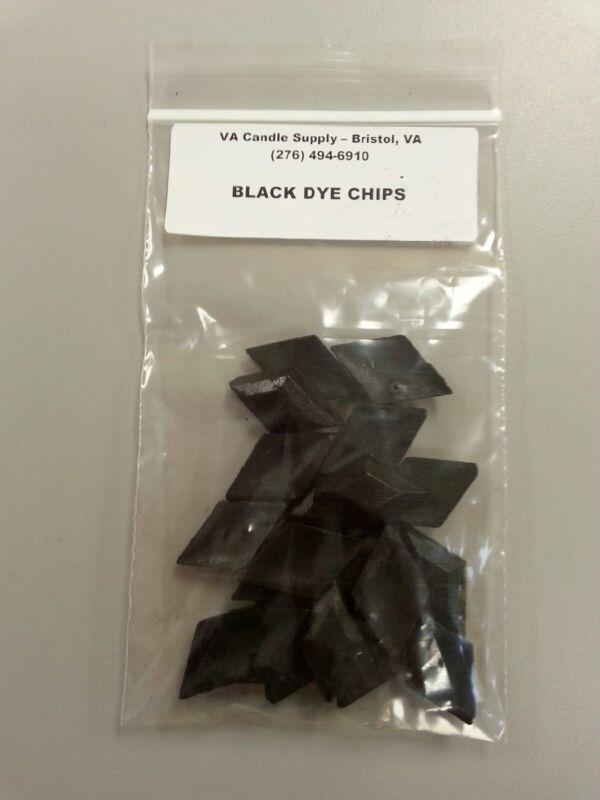 BLACK DYE CHIPS (20 PCS PER PACK) CANDLE MAKING SUPPLIES