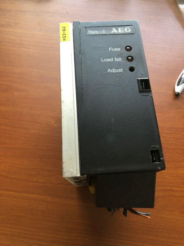AEG S 500-40 HT THYRO-S THYRISTOR CONTROL 8-280AMP 230-500V