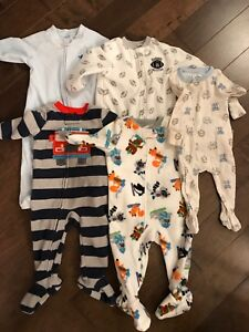Boys 9 month sleepers