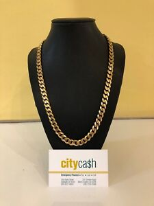 9ct Solid Gold 54.5cm Chain Adelaide CBD Adelaide City Preview