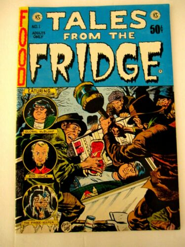 Comic Tales From the Fridge Adults Only 1st printing 1973