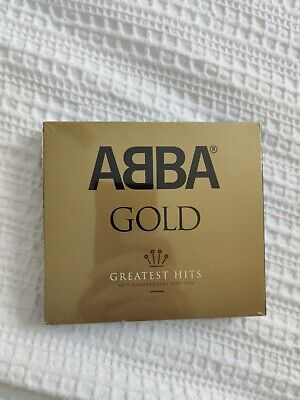 ABBA Gold Greatest Hits 40th Anniversary Edition 3CD BRAND NEW Digipak