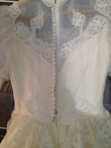 "Vintage ""Party Time"" wedding dress"