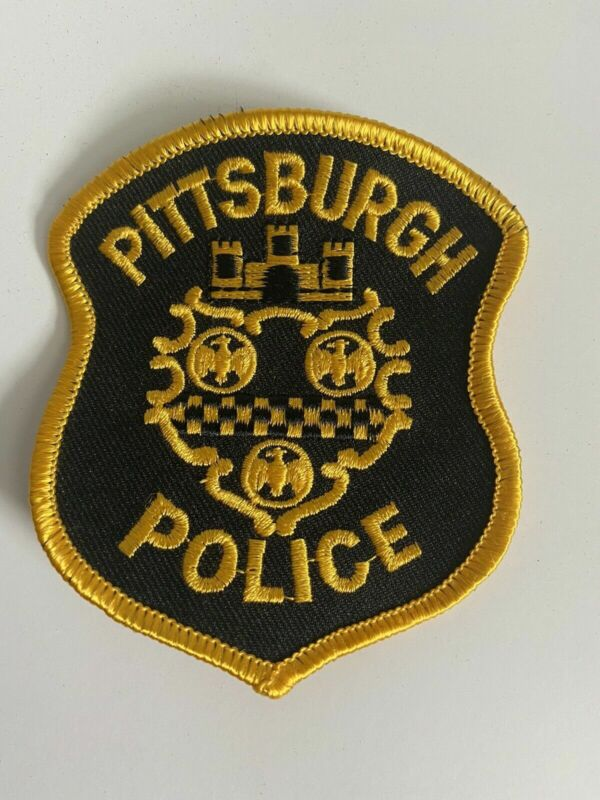 Pittsburgh Pennsylvania Police Patch A4