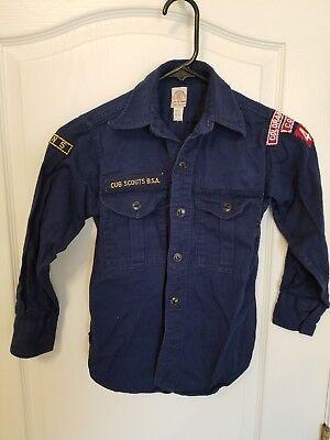 Vintage Cub Scouts Uniform w/ 2 Scarfs and Cap Den 43 Colorado Springs, CO