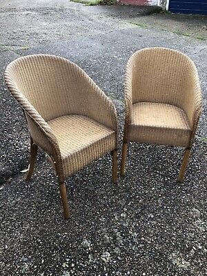 Matching Pair Of Loom Armchairs