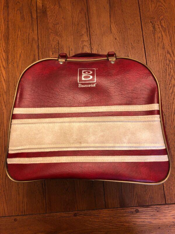 Vintage Brunswick Bowling Ball Bag