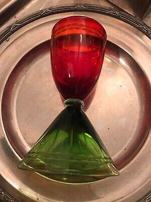 Wine Glass Red Collectable Similar To Saint-Louis Crystal Les Endiables Glasses comprar usado  Enviando para Brazil