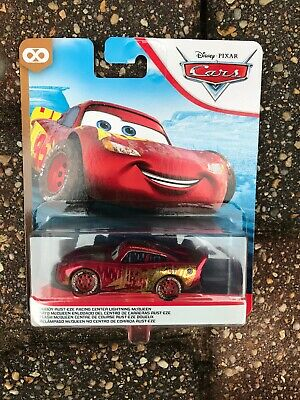 Disney Pixar Cars MUDDY RUST-EZE RACING CENTER McQUEEN THUNDER HOLLOW Series NEW