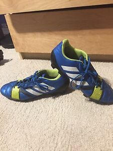 Adidas soccer cleats.