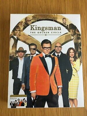 *New, Sealed* Kingsman: The Golden Circle Filmarena Blu-ray Steelbook
