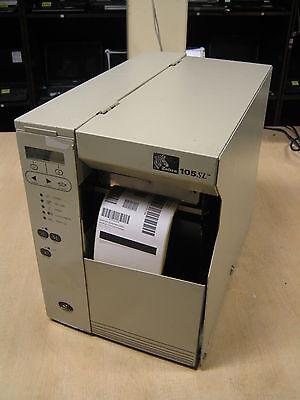 Zebra 105SL NETWORK Direct Thermal Transfer Barcode Label POS Parallel Printer