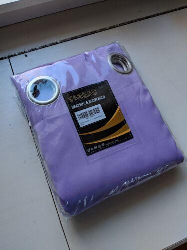 Set of 2 Vangao Purple Lilac Blackout Curtains Room Darkenin