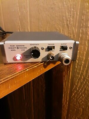 Hp 213b Pulse Generator Used Works