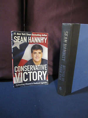 Sean Hannity  Conservative Victory And Deliver Us From Evil   Incl  Shipping