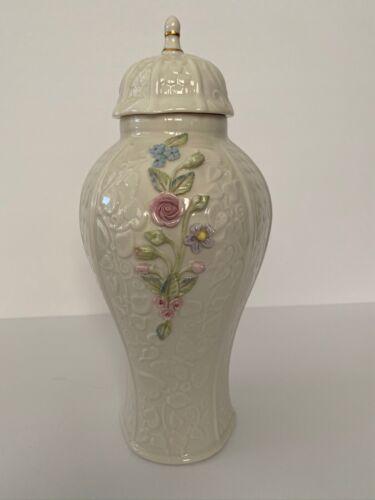 Belleek Millennium Collection Covered Vase 2321 LE