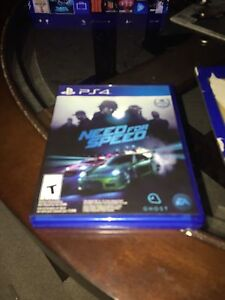 Need for speed ps4 New
