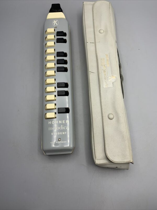 Vintage HOHNER Melodica-Student Harmonica With Case - Germany