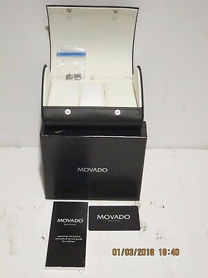 Movado Ardezzo BOX, CASE,LINKS,PINS FOR Gold/STAINLESS Womens Watch-0694962 NEW!