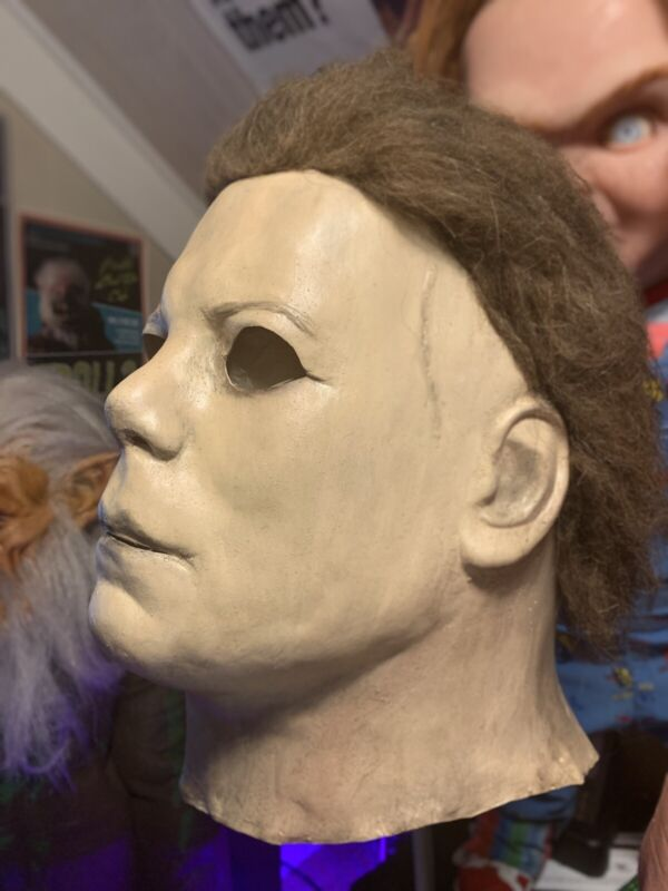 Michael Myers Mask Halloween Latex Mask Nag Madman 78 Not Horror Bust