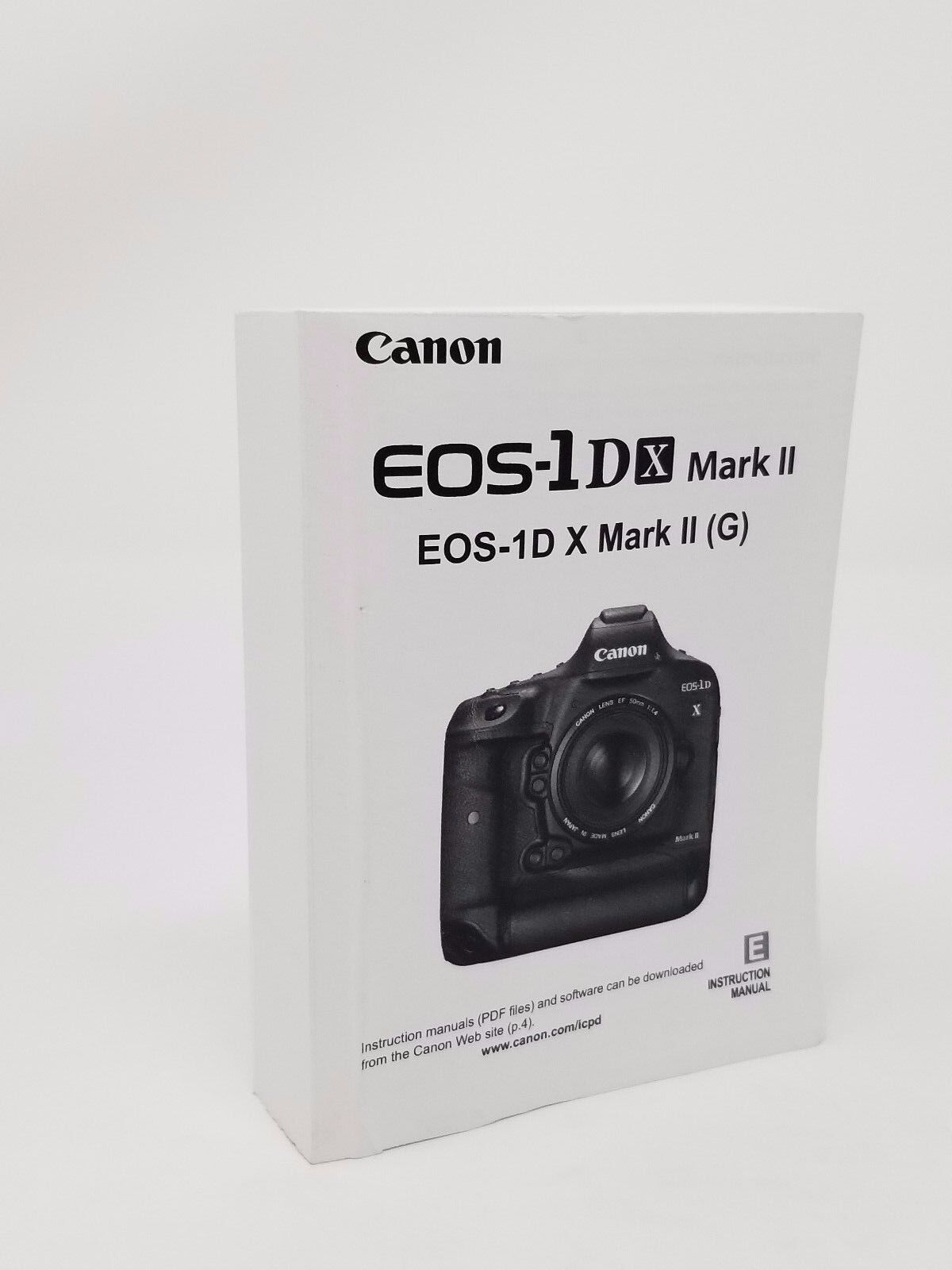 canon eos 1dx mark ii genuine instruction owners manual book rh bayshop com canon eos 1d mark iv instruction manual canon eos 1d mark ii instruction manual