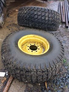 John Deere floatation tires and rims