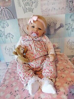 "Ashton Drake Doll ""Hope"" by Waki Puppen Reborn Baby Lifelike"