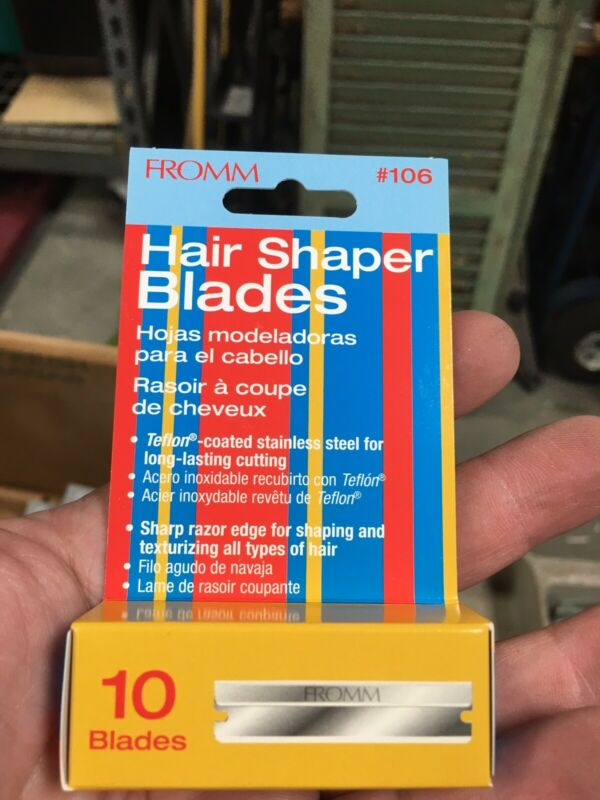 Fromm Hair Shaper Shaver Blades 10 blades #525106 #106