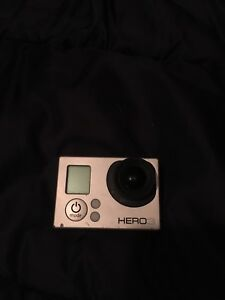 Gopro hero 3+ with black case and mounts
