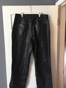 Leather motorcycle Pants size 34