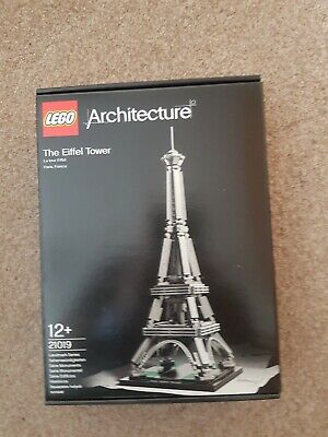 Lego Architecture Eiffel Tower (21019) New and unopened