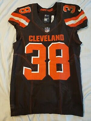eb3fe6a6c TJ Carrie 2017 Cleveland Browns Nike Game Worn 11 11 2017 Jersey NFL PSA DNA