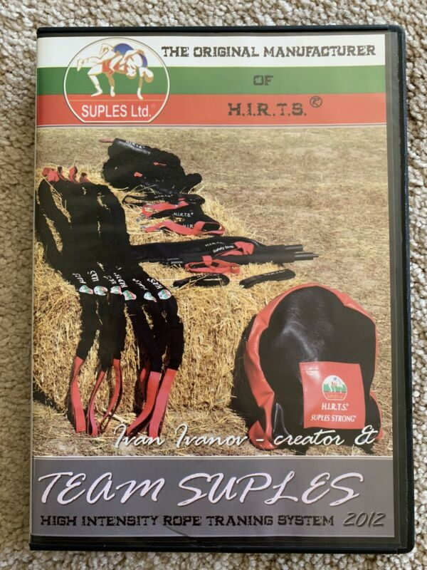 Suples H.I.R.T.S. High Intensity Rope Training System DVD BULGARIAN BAG CREATOR