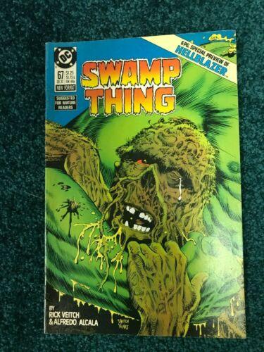 Swamp Thing - # 67 - Solomon Grundy !! - 6 pg Hellblazer Preview !!
