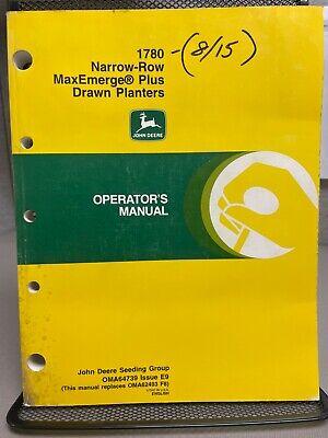 John Deere 1780 Narrow Row Maxemerge Plus Drawn Planters Manual Oma64739 C-2