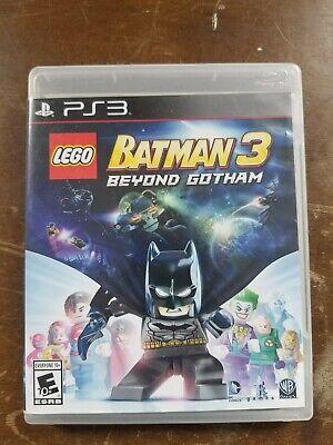 LEGO Batman 3 Beyond Gotham PlayStation 3 PS3  Complete Tested