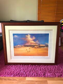 Signed & Numbered Darcy Doyle Print in Frame!