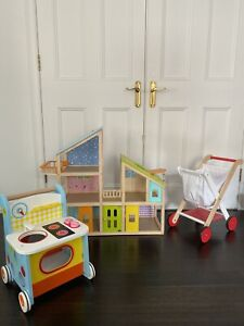 Bulk Buy - ALDI Doll House, Kitchen and Trolley