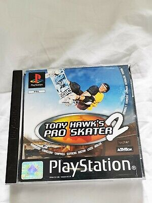 Tony Hawks Pro Skater 2 PS1 - PAL - (With Manual) Complete.