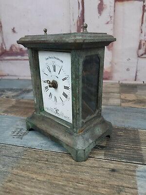 Antique Vintage French 19th Century Grand Prix De L Horlogerie Carriage Clock
