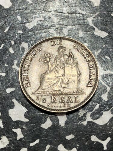 1900 Guatemala 1/2 Real  (59 Available)  (1 Coin Only)