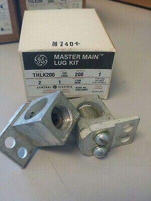 Ge Thlk200 Nib Master Main Lug Kit 2p 200a