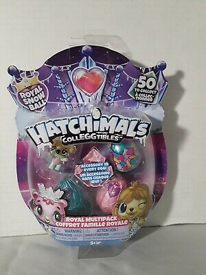Hatchimals COLLEGGTIBLES Royal Snow Ball 4 Pack SEASON 6 Ages 5+ New In Package