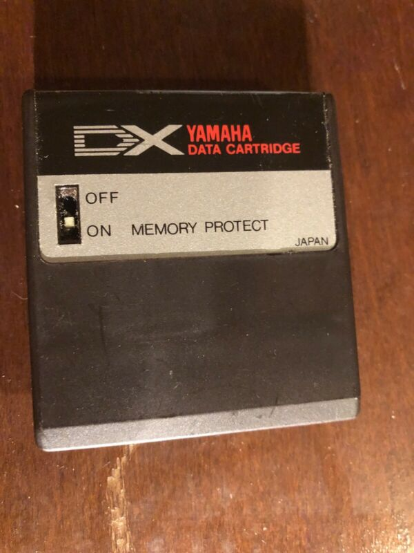 yamaha dx7 cartridge RAM