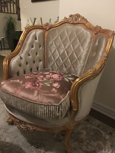 Classic French style living room set