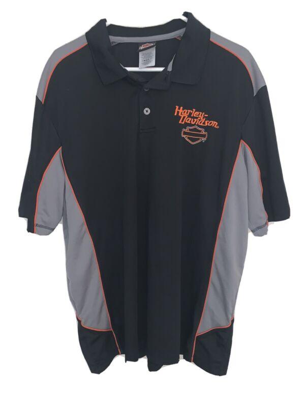 Harley-Davidson Yuba City, Ca Work Shirt Collared Size 2XL D